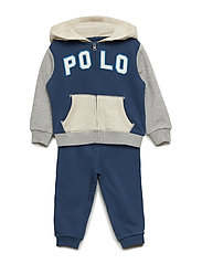 TERRY-POLO HOOKUP-ST-PNS - CLANCY BLUE