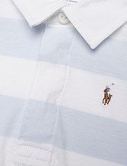Ralph Lauren Baby - Striped Cotton Rugby Shortall - kortærmede - beryl blue multi - 2
