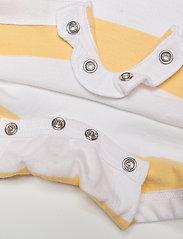 Ralph Lauren Baby - Striped Cotton Rugby Shortall - kurzärmelig - empire yellow mul - 3