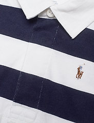 Ralph Lauren Baby - Striped Cotton Rugby Shortall - kortærmede - french navy multi - 2