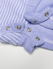 Ralph Lauren Baby - Knit Oxford Fun Shortall - kurzärmelig - harbor island blu - 3