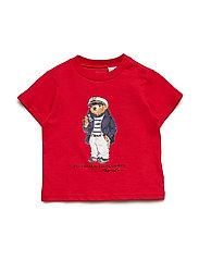 Captain Bear Cotton Tee - RL2000 RED
