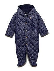 Quilted Barn Bunting - FRENCH NAVY