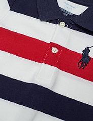 Ralph Lauren Baby - Big Pony Cotton Mesh Shortall - krótki rękaw - newport navy mult - 2