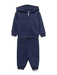 French Terry Hoodie & Pant - FRENCH NAVY