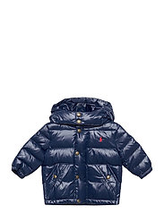 Water-Repellent Down Jacket - CRUISE NAVY