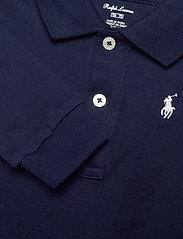 Ralph Lauren Baby - Cotton Interlock Polo Bodysuit - lange mouwen - french navy - 2