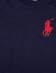 Ralph Lauren Baby - Big Pony Cotton Jersey Tee - kortærmede - french navy - 2