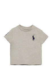 Big Pony Cotton Jersey Tee - NEW GREY HEATHER