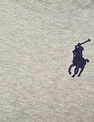 Ralph Lauren Baby - Big Pony Cotton Jersey Tee - kortærmede - new grey heather - 2