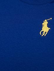 Ralph Lauren Baby - Big Pony Cotton Jersey Tee - kortærmede - sapphire star - 2
