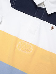 Ralph Lauren Baby - Striped Cotton Rugby Shortall - kurzärmelig - empire yellow mul - 2