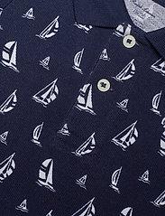 Ralph Lauren Baby - Sailboat Cotton Mesh Polo Shirt - polo shirts - navy multi - 2