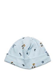Polo Bear Interlock Hat - BLUE MULTI