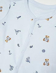 Ralph Lauren Baby - Polo Bear Cotton Interlock Shortall - kurzärmelig - blue multi - 2