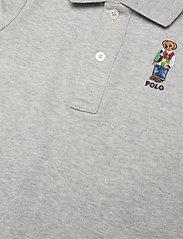 Ralph Lauren Baby - Polo Bear Cotton Interlock Shortall - kurzärmelig - andover heather - 2