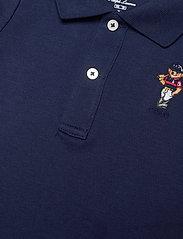 Ralph Lauren Baby - Polo Bear Cotton Interlock Shortall - kurzärmelig - newport navy - 2