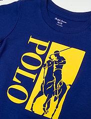 Ralph Lauren Baby - Big Pony Logo Jersey Bodysuit - kurzärmelige - heritage royal - 2