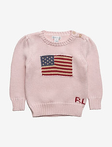 AMERICAN SWT-TOPS-SWEATER - FRENCH PINK