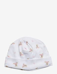INTERLOCK-BEANIE-AC-HAT - hats - white/pink/multi