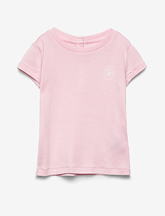 Cotton-Modal T-Shirt - HINT OF PINK