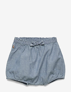 Chambray Bloomer Short - shorts - chambray