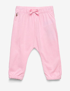 Oxford Mesh Pull-On Pant - trousers - carmel pink