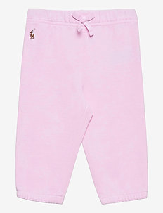 Oxford Mesh Pull-On Pant - hosen - carmel pink/white