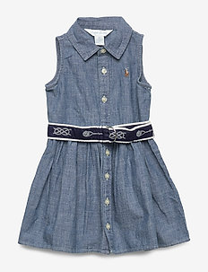 Dress, Belt & Bloomer - INDIGO