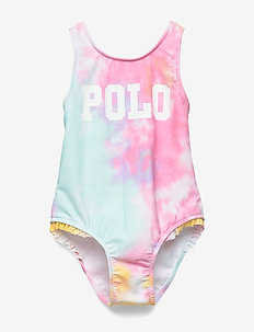Tie-Dyed One-Piece Swimsuit - swimsuits - tie dye