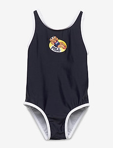 Float Bear One-Piece Swimsuit - swimsuits - hunter navy