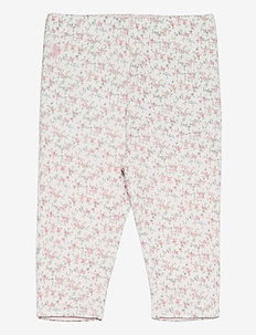 PRINTED INTERLOCK-REVERS PANT-BT-PN - hosen - floral multi