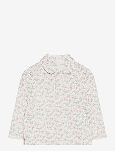 PRINTED INTERLOCK-FLORAL POLO-TP-KN - polos - multi floral