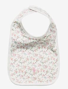 Floral Cotton Bib - dry bibs - multi floral