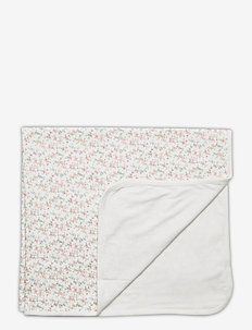 Floral Cotton Blanket - decken & steppdecken - multi floral