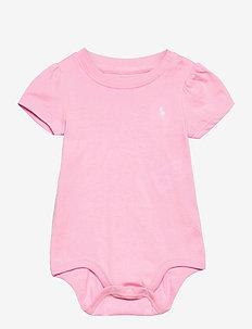 Jersey Tee Bodysuit - korte mouwen - carmel pink