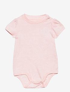 Jersey Tee Bodysuit - korte mouwen - delicate pink