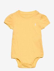 Jersey Tee Bodysuit - korte mouwen - empire yellow