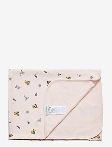 Polo Bear Interlock Blanket - koce - pink multi