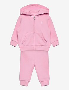 Fleece Hoodie & Pant Set - trainingsanzug - carmel pink