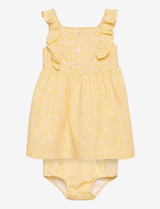 Ruffled Dress & Bloomer - jurken - yellow multi