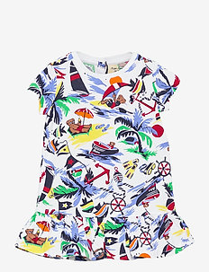 Polo Bear Tee Dress & Bloomer - jurken - nautical deco bea