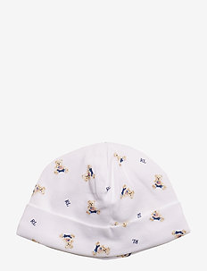 INTERLOCK-BOY BEAR-AC-HAT - WHITE/BLUE MULTI