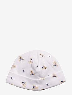 INTERLOCK-BOY BEAR-AC-HAT - kapelusze - white/blue multi