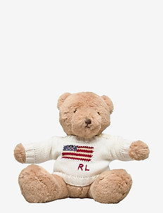 Small Flag-Sweater Polo Bear - pokój zabaw - clubhouse cream