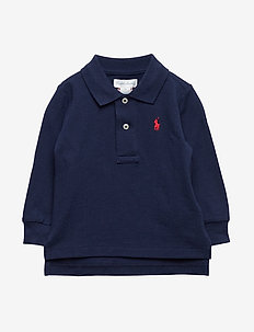 Cotton Mesh Polo Shirt - NEWPORT NAVY