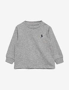 Cotton Jersey Long-Sleeve Tee - manches longues - andover heather
