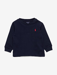 Cotton Jersey Long-Sleeve Tee - manches longues - cruise navy