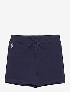 Cotton Mesh Pull-On Short - shorts - french navy