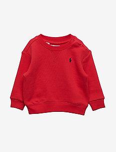 Cotton-Blend-Fleece Sweatshirt - RL2000 RED